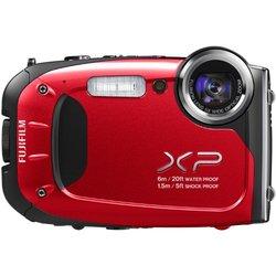 Fujifilm XP60 16.4MP Digital Camera Red Waterproof 5x Optical Zoom