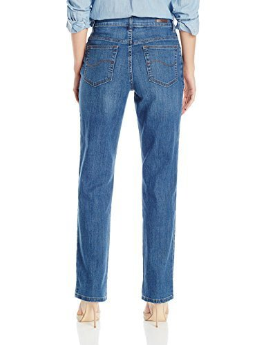 fe1c1232 ... Lee Women's Relaxed Fit Straight Leg Jeans - Dark Blue - Size: ...