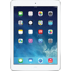 Apple iPad Air 128GB Tablet Wi-Fi + Verizon 4G Cellular -White/Silver