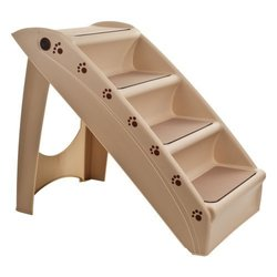 Petmaker Foldable Pet Stairs Step - Tan