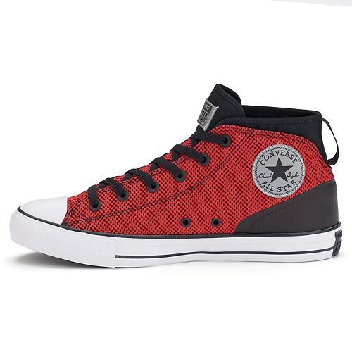 a5e5d254e8cd ... 11 Converse Men s All Star Syde Street Mid Reflective Shoes - Red - Size   ...