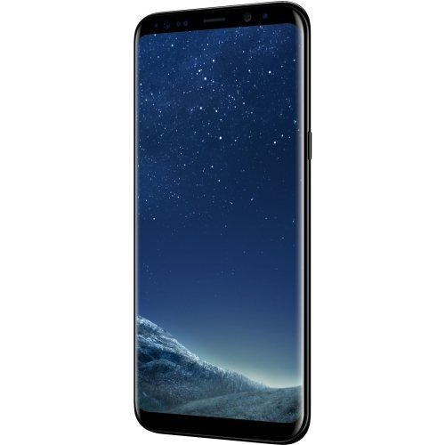 unlocked samsung galaxy s8 plus 64gb android black sm. Black Bedroom Furniture Sets. Home Design Ideas