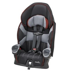 Evenflo Booster Car Seat 5-Point Harness to Vehicle Seat Belt - Wesley