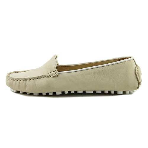 d7a768e2e33 ... Cole Haan Women s Hanneli Driver Toe Synthetic Loafers - Ivory ...