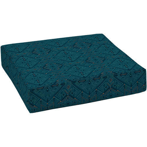 Better homes and gardens outdoor patio deep seat cushion blue sw diamond check back soon blinq for Better homes and gardens deep seat cushion