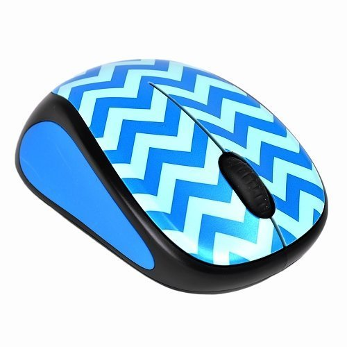 727d2c4dcb5 Logitech Wireless Scroll Mouse - Teal Chevron - Check Back Soon - BLINQ