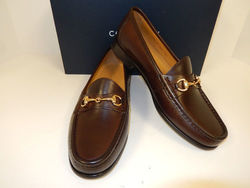 Ascot Loafer Shoes - Dark Brown