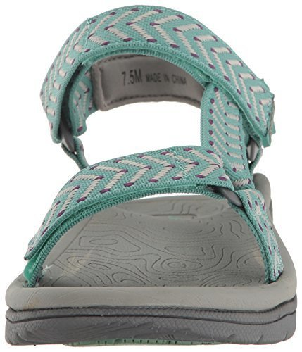 0e73cb1379d3a JBU by Jambu Women's Navajo-Water Ready Flat Sandals - Sage - Size ...