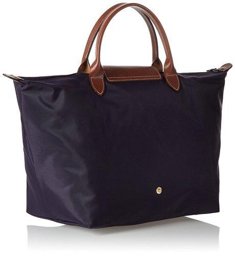 f2094d00ad ... Longchamp Le Pliage Medium Tote Bag Myrtille - Purple - Size One Size  ...