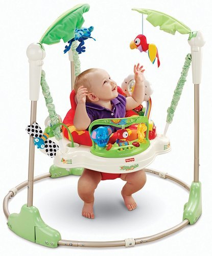 Fisher Price Rainforest Jumperoo Activity Toy For Toddlers