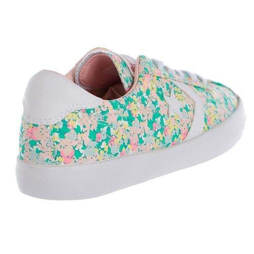 Converse Women s Breakpoint Floral Low Top Sneaker - Multi - Size 8 ... 73d64158b