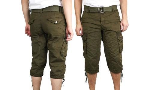 1c77b99f8c X-Ray Jeans Men's Turin Cargo Shorts - Olive - Size: 36 - Check Back ...