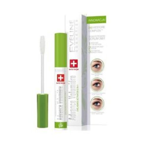 d36f1ff795f ... Eveline Advance Volumiere Eyelashes Growth Serum 3-in-1 Mascara 10ml ...
