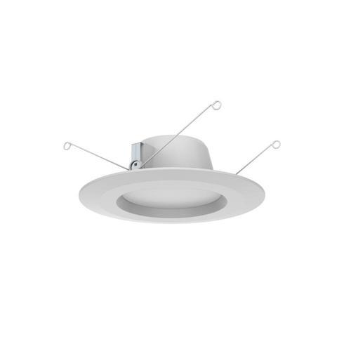 Commercial Electric 4 Pack Integrated Led Recessed Trim White 5