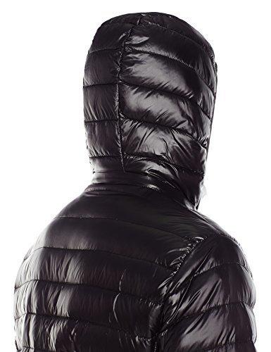 c67e9b369 Calvin Klein Men's Packable Down Hooded Coat - Black - Size:L ...