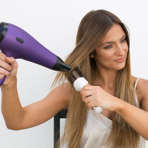 Revlon Salon 1875w Fast Drying Ac Motor Hair Dryer Purple Check