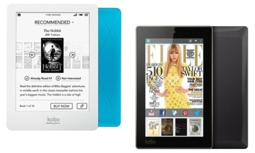Kobo E-Reader: N613-KBO-U Glo-Blue - Check Back Soon