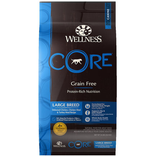 Wellness Core Natural Grain Free Large Breed Dry Dog Food