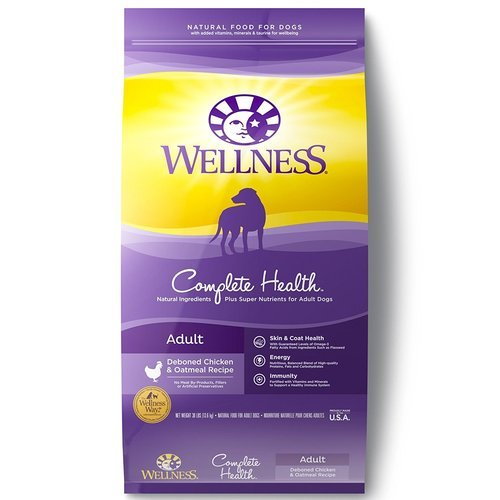 Wellness Complete Health Natural Dry Dog Food Chicken Recipe