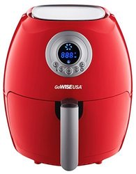 Gowise 2.75 Quart Digital Air Fryer - Red 1452833