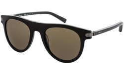 a5a2ddaf51182 Salvatore Ferragamo Men s Sunglasses - Black Brown (SF787S-001 ...