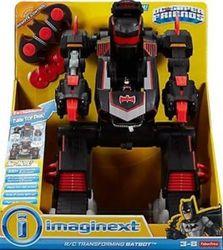 Fisher- Imaginext DC Super Friends RC Transforming Batbot 1494731