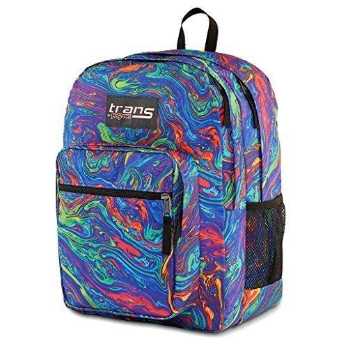 Jansport Acid Rainbow Swirl Print Backpack - Multi - Size ...