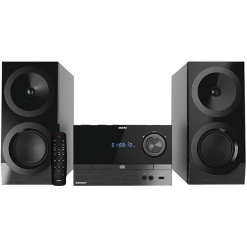 ion audio bluetooth shelf hi fi fm stereo system ias01. Black Bedroom Furniture Sets. Home Design Ideas
