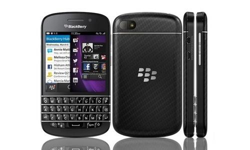 Unlocked Blackberry Q10 16GB Android Smartphone - Black (Q10