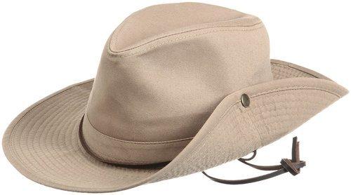 5c647b80317e5a Dorfman Pacific Men's Garment Washed Twill Safari Hat - Khaki - Size ...