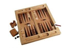 John N. Hansen Tabletop Backgammon Set 1506669