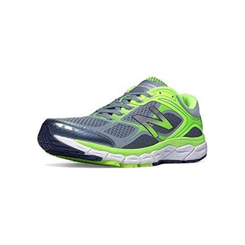 New Balance 860v6 Mens Stability Running Shoe 10.5 Grey-Hi-Lite ... 1a65ba4b3e9