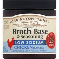 Orrington Farms Chicken Flavored Broth Base & Seasoning - Low Sodium 1496087