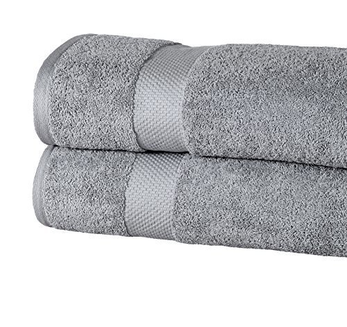 Oversized Bath Sheets Simple Elegance Spa Luxurious Oversized Bath Sheets Grey Size 60x60