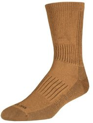 Drymax Hiking HD Crew Socks, Dark Brown, Medium 1513166