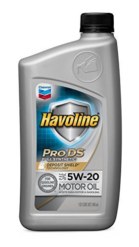 Havoline 5w 20 prods full synthetic motor oil size 1 for How long does synthetic motor oil last