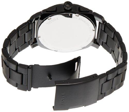 Bracelet fossil homme noir