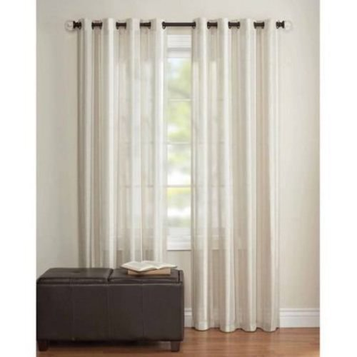 Better Homes And Gardens 52 X84 Toby Textured Sheer