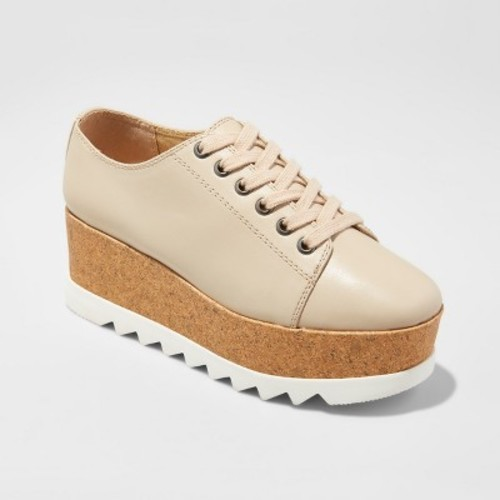 3936dac3c15 Mossimo Women s Juniper Platform Oxford Shoes - Tan - Size  7.5 ...