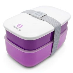 Bentgo All-In-One Stackable Lunch/Bento Box - Purple