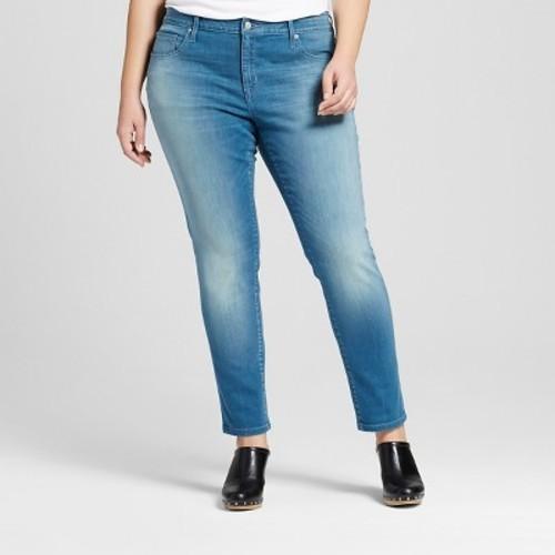 f16851ae4ee Ava   Viv Women s Plus Size Skinny Jeans - Dark Denim Wash - Size  20W -  Check Back Soon - BLINQ