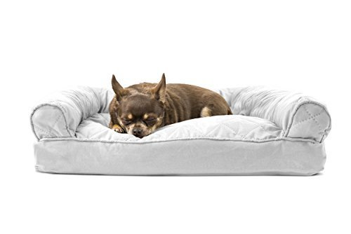 Astounding Furhaven Quilted Pillow Sofa Dog Bed Pet Bed Grey Small Check Back Soon Gmtry Best Dining Table And Chair Ideas Images Gmtryco