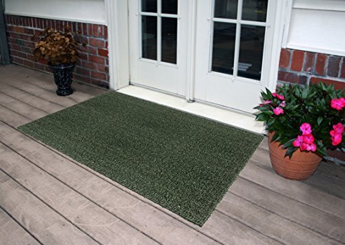 Clean Machine Flair Door Mat   Evergreen   Size: 36 In. X 60 In