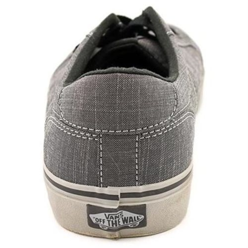 62dc474b13 Vans Men s Bishop Canvas Herringbone Sneakers - Black Gray - Size  8 ...