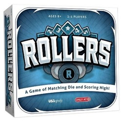 Rollers Board Game - A Game Of