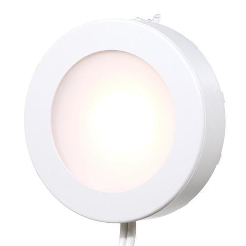 Commercial Electric Led Puck Lights: Commercial Electric 5-Light LED AC Puck Light Kit