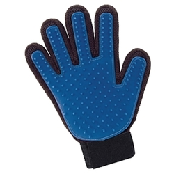 Easy Remover Pet Grooming Glove - Blue 1344995