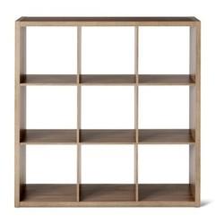 "9-Cube Organizer Shelf 13"""" - Light Brown- Threshold"" 1540718"