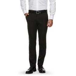 Haggar H26 - Men's Slim Fit Performance Pants Black 28X30 1542123