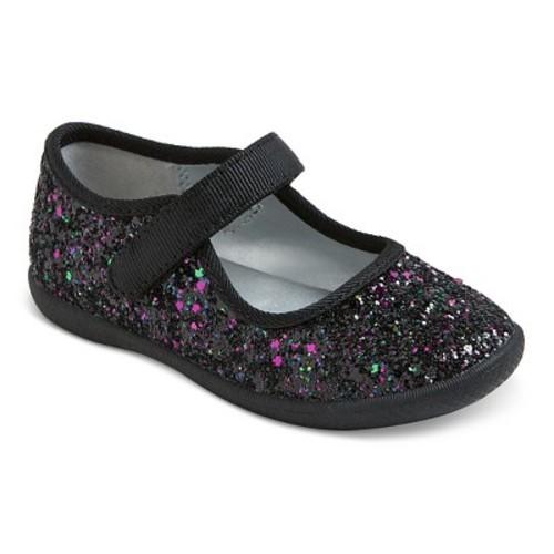 04636f91ed66 Cat   Jack Toddler Girls  Vienna Ballet Shoes - Black - Size  6 ...